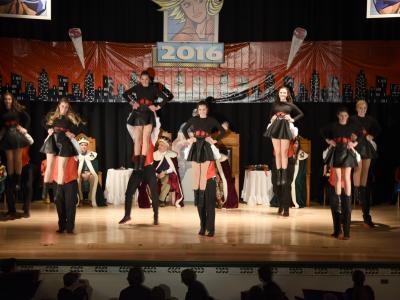 2016 Coronation Court Dance