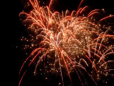 Closing fireworks 2