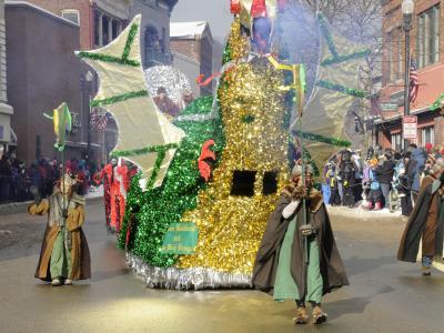 2014 Winter Carnival Gala Parade