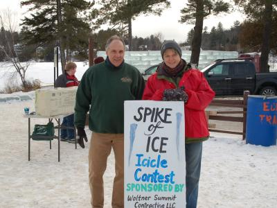 Spike of Ice Icicle Contest