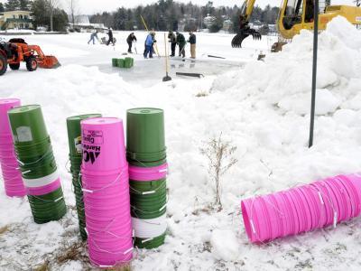 Ice Palace buckets