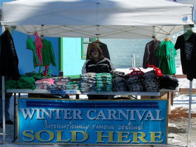 Ice Palace vendor