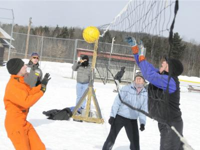Snowflake Volley Ball
