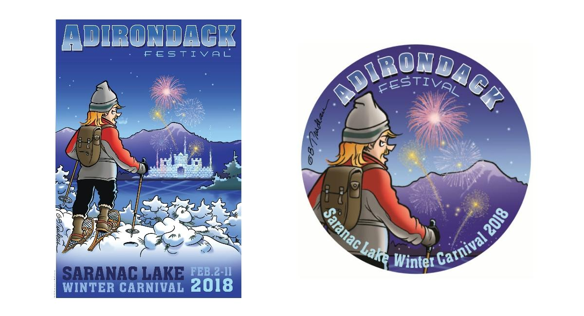 Winter Carnival Buttons U0026 Posters