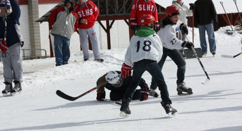 Pond Hockey Tournament The Saranac Lake Winter Carnival