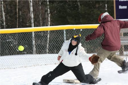 Snow Shoe Softball