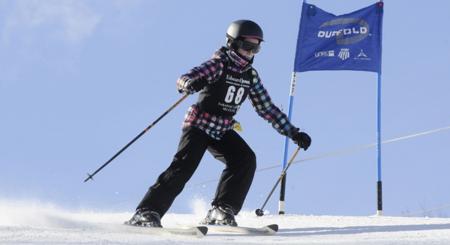 White Stag skier