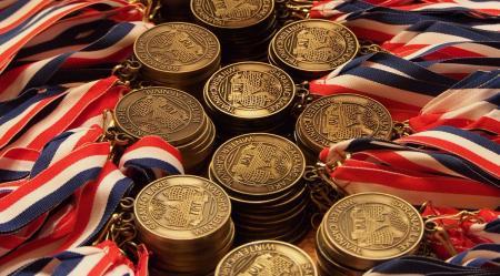 Winter Carnival medals