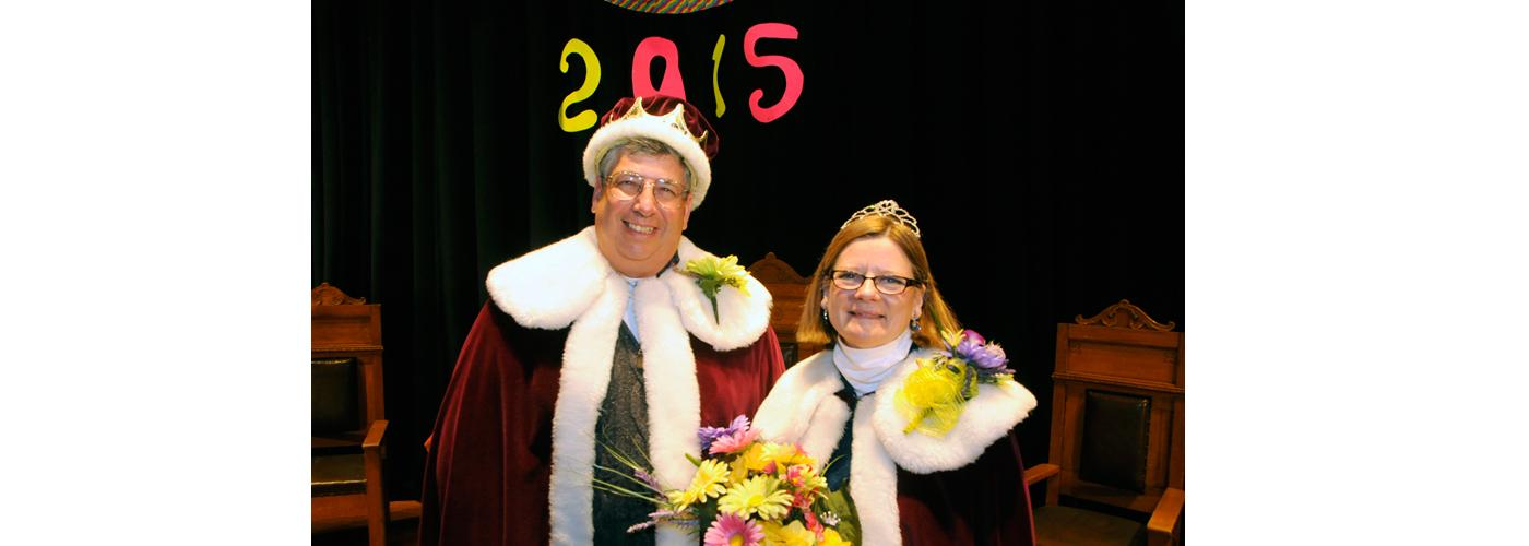 2015 King Steve and Queen Linda