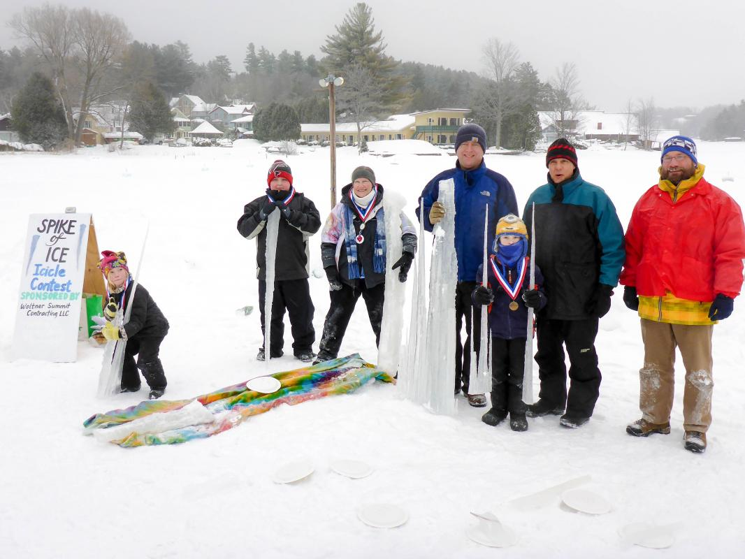 2015 Spike of Ice Icicle Contest