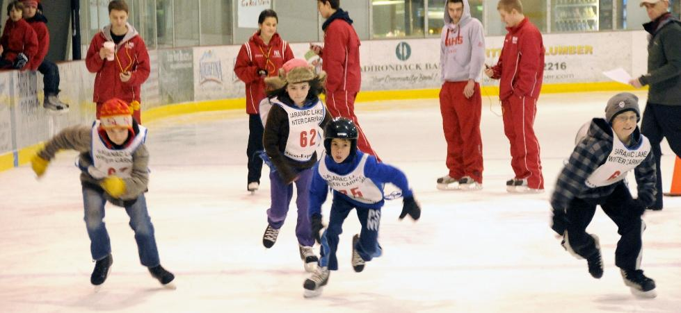 Youth Skating Races