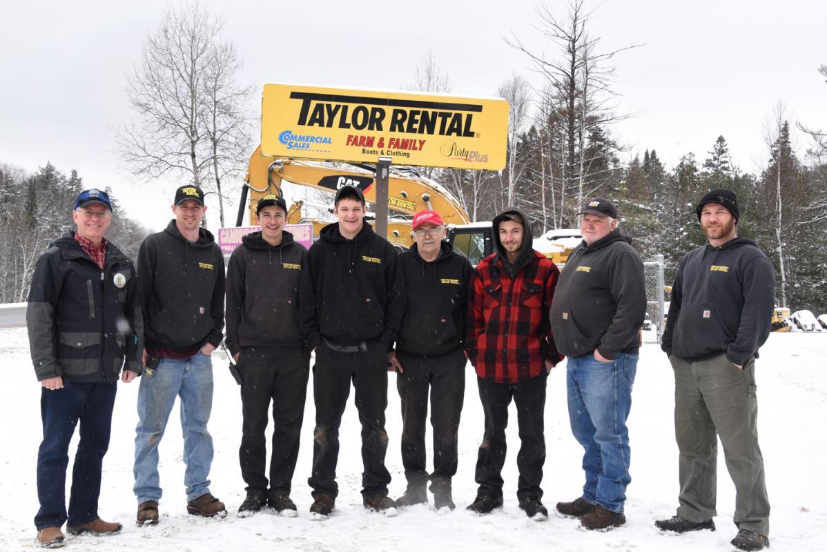 2019 Sponsor Taylor Rental
