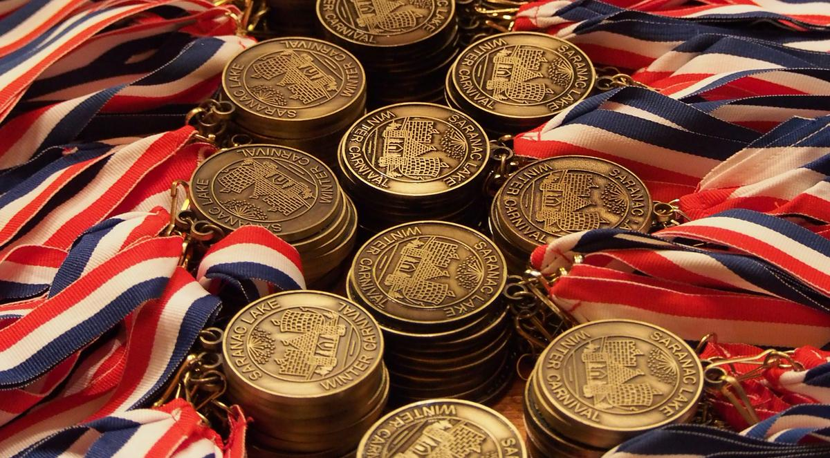 Winter Carnival medals
